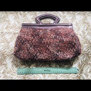 Victoria's Secret Purse Carpet Bag Clutch